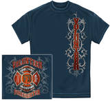 Fire Dept Faded Planks T-shirts