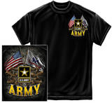 Army - Double Flag T-Shirt
