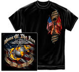 USMC - Home Of The Free Because Of The Brave Shirts
