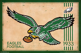 Philadelphia Eagles - Retro Logo 14 Print