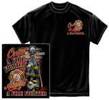 Once And Always A Firefighter T-Shirt