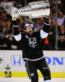 LA Kings Justin Williams with the Stanley Cup Game 5 of the 2014 Stanley Cup Finals Photo