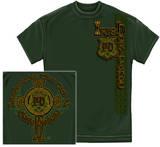 Irish Police Gold Cross T-shirts