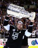 LA Kings Anze Kopitar with the Stanley Cup Game 5 of the 2014 Stanley Cup Finals Photo