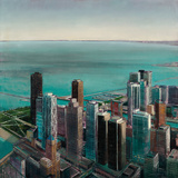 Skyline II Art by Joseph Cates