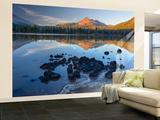 Sparks Lake with Broken Top, Deschutes National Forest Oregon, USA Wall Mural – Large by Jamie & Judy Wild