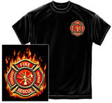 Firefighter - Classic Fire Maltese Shirts