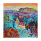 As the Sun Goes Down 2013 Giclee Print by Sylvia Paul