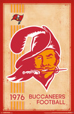 Tampa Bay Buccaneers - Retro Logo 14 Plakater