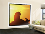 Radiant Africa 4 Wall Mural – Large by Susann Parker