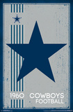 Dallas Cowboys - Retro Logo 14 Plakater