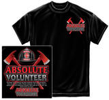 Absolute Volunteer Firefighter T-shirts