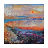 Marsh Sunset 2013 Giclee Print by Sylvia Paul