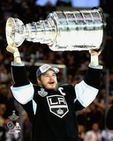 LA Kings Dustin Brown with the Stanley Cup Game 5 of the 2014 Stanley Cup Finals Photo