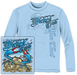 Long Sleeve: Wicked Crab T-Shirt
