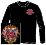 Long Sleeve: Firefighter - Badge of Honor T-shirts