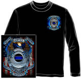 Long Sleeve: Honor Our Fallen Officers T-Shirt
