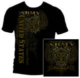 Army Crest Elite Breed Rise Above Fear Shirts