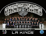 Los Angeles Kings 2014 NHL Stanley Cup Champions Team Sit Down Photo Photo