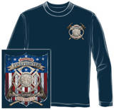 Long Sleeve: American Firefighter T-shirts