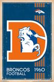 Denver Broncos - Retro Logo 14 Posters