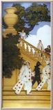 Florentine Fete, Stairway to Summer Prints by Maxfield Parrish