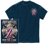 Firefighter For The Cure T-shirts