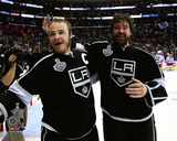LA Kings Dustin Brown & Justin Williams Celebrate Winning Game 5 of the 2014 Stanley Cup Finals Photo