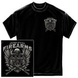 United States Fire Arms Silver Foil T-Shirt