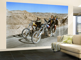 Easy Rider 1969 Directed by Dennis Hopper Dennis Hopper and Peter Fonda Wall Mural – Large