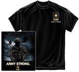 Army - Strong Helicopter Solider T-shirts