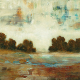 Layered Scape Art by Lisa Ridgers