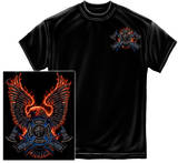 Firefighter Volunteer Fire Eagle T-Shirt