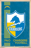 San Diego Chargers - Retro Logo 14 Plakater