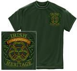 Firefighter - Irish Heritage T-shirts