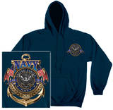 Hoodie: Navy - The Sea Is Ours T-Shirt
