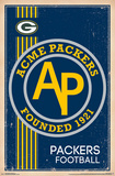 Green Bay Packers - Retro Logo 14 Plakater
