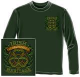 Long Sleeve: Firefighter - Irish Heritage T-Shirt