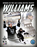 LA Kings Justin Williams 2014 NHL Conn Smythe Trophy Winner Portrait Plus Photo