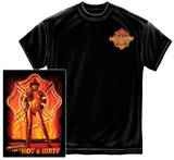 Hot And Dirty Firefighter Shirt