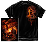 Fear No Evil Dragon T-shirts