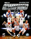 San Antonio Spurs 2014 NBA Finals Champions Photo