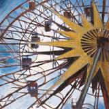 Ferris Wheel Posters by Elizabeth Jardine