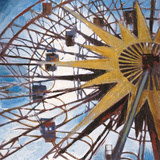 Ferris Wheel Posters by Liz Jardine