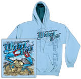 Hoodie: Wicked Crab T-Shirt