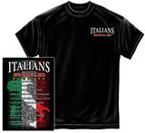 Italians Rules T-shirts