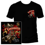 Antique Firefighter T-shirts