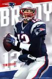 New England Patriots - T Brady 14 Kunstdrucke