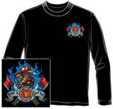 Long Sleeve: Firefighter - First In Last Out T-Shirt