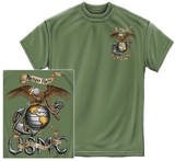 USMC - Eagle Military Green Shirts